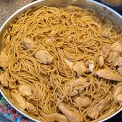 Cooksnap for Chicken Lo Mein