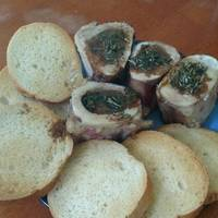 Mike's Beef Bone Marrow Appetizer
