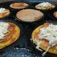 Besan/ Gram flour Cheela or Dosa