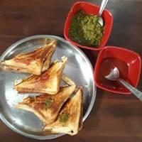 Grilled veg sandwich