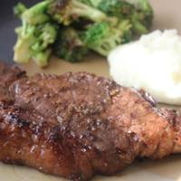 Savory garlic Marinated Steak