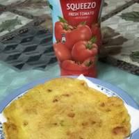 Vegetable cheela