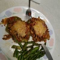 Larry's stuffed bell peppers