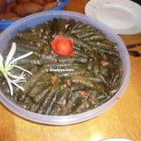 Stuffed grape leaves iranian style, Dolma