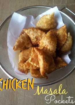 Chicken Masala Pockets