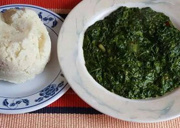 Image result for ugali and saag