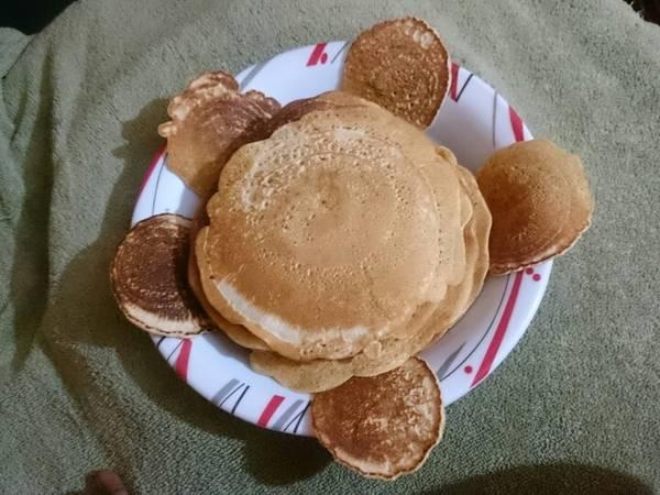 Cardamon pancakes