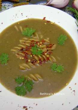 Onion Pasta Soup