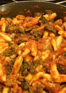 Ricotta Cavatelli with Sausage and Broccoli Rabe