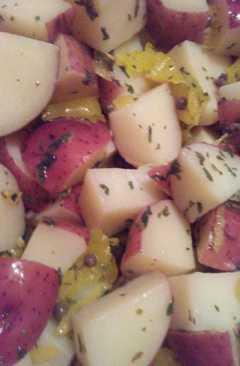 resep masakan italian pot ato salad