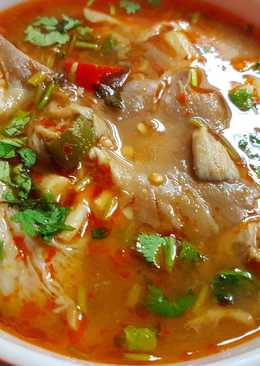 Tom Yam Gung - Thai Spicy and Sour Soup