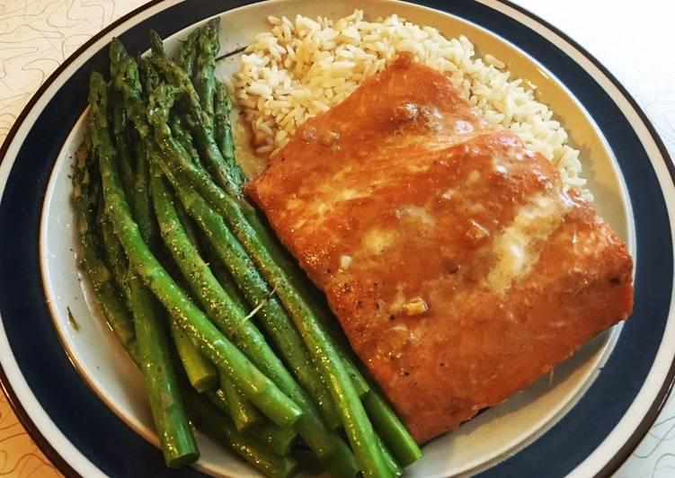 Oven Poached Salmon Recipe Main Photo