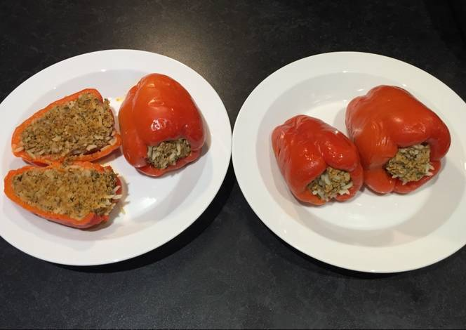 Resep Ardei umpluți (Romanian stuffed peppers)