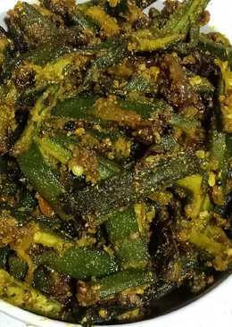 Masala bhindi sabji