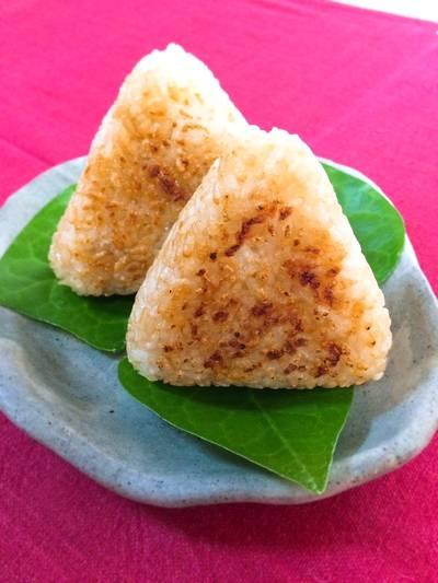 Yaki onigiri - grilled rice balls