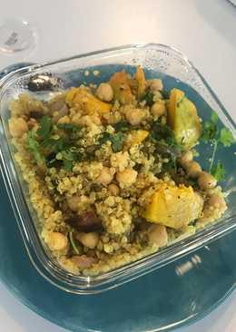 Vegan Moroccan Quinoa with Veggies
