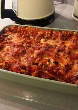 Vegetarian Lasagna with Cottage Cheese