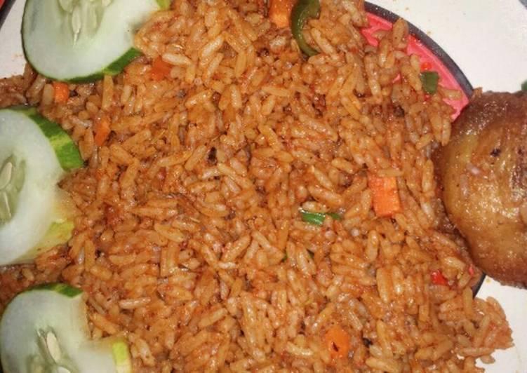 Garnish jollof rice and fried chicken recipe by steve wealth abah garnish jollof rice and fried chicken ccuart Choice Image