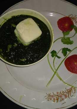 Cheese coriander dip