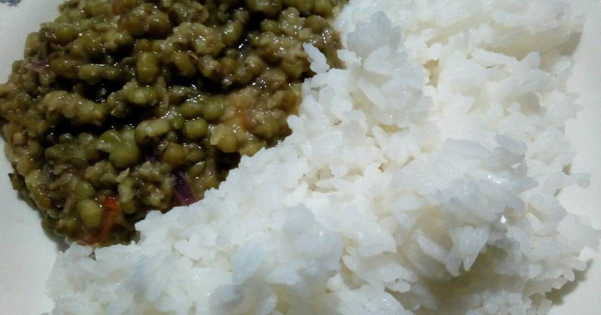Green Grams Ndengu Stew With Rice