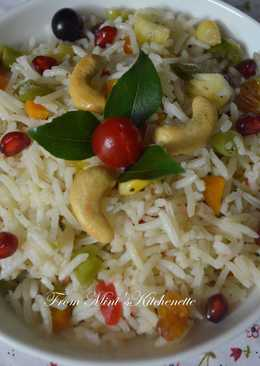 Fruit N Nut Vegetable Ghee Rice
