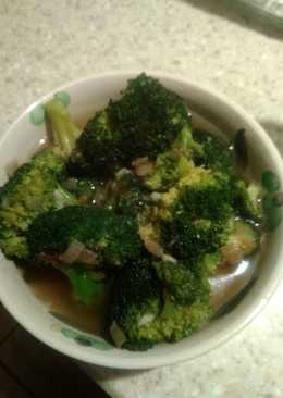 Broccoli and garlic