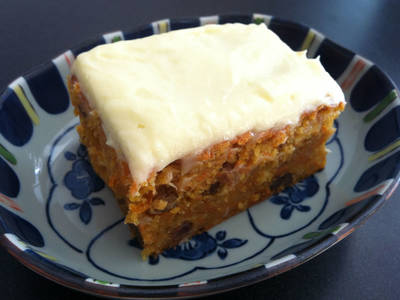 My Legendary Carrot Cake