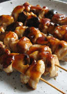 Chicken & Shiitake Skewers