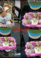 Rajma paneer cheesy balls with curd dip
