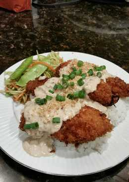 Brad's Chinese almond chicken