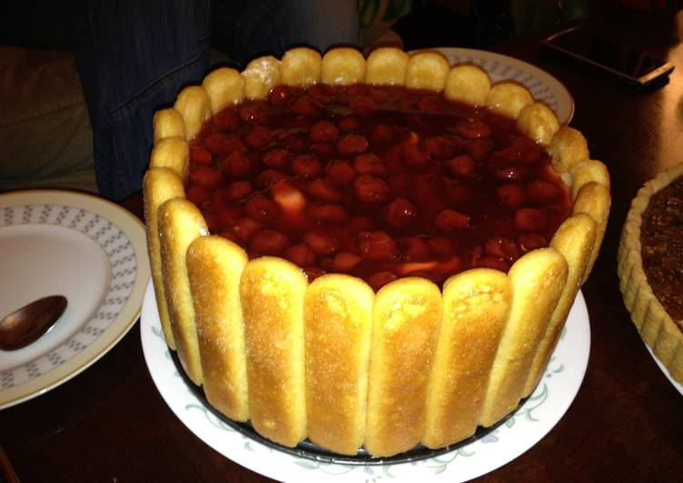 Fruit & Cheese Torte