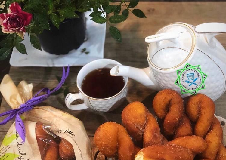 Korean Twisted Donuts Recipe by Linda Hiền Hoà - Cookpad