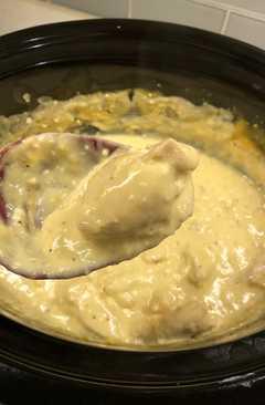 resep masakan italian crockpot chicken