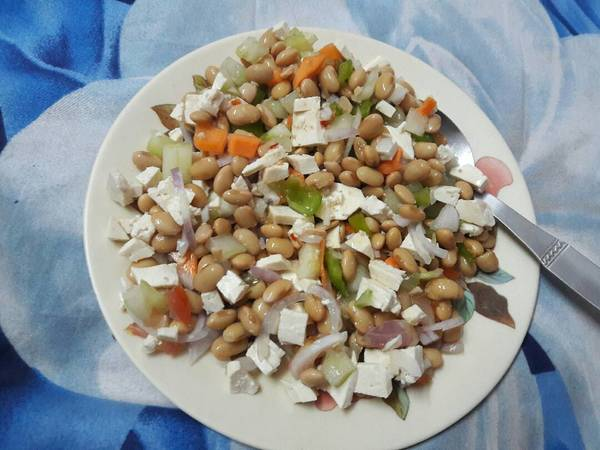 Nutritious Soya Salad