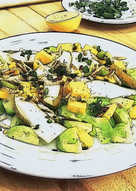 Brussels Sprouts Salad with Pear and Cheddar