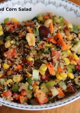 Quinoa Veggie And Corn Salad