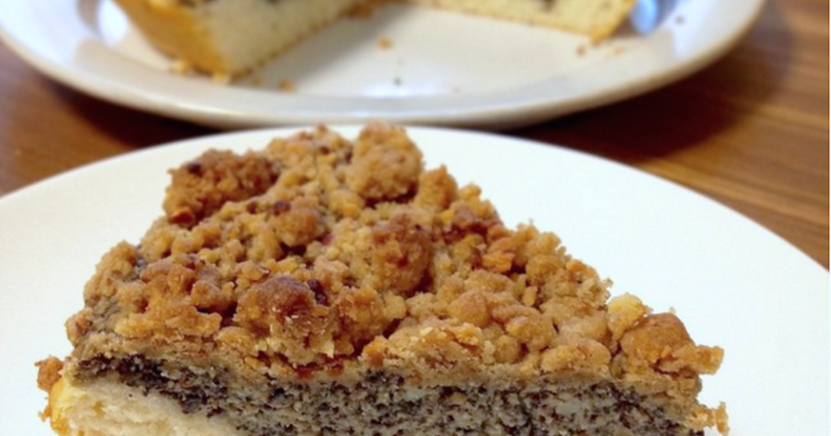Mohnkuchen Poppy Seed Cake Recipe