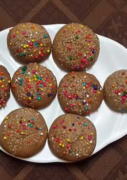 Valentines rainbow cookies