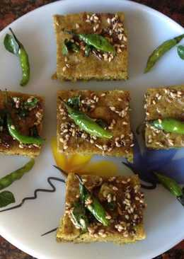 Two Millets Dhokla