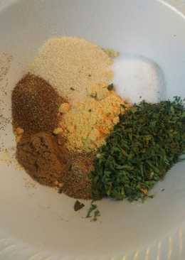 Meatloaf Dry Spices