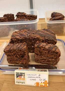 Chocolate & Walnut Cake (GF) (DF)