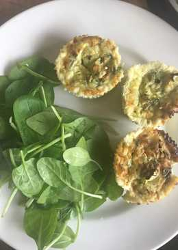 Healthy mini courgette frittatas #seasonsupply