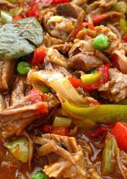 Ropa Vieja (Cuban Style Stewed Shredded Beef)
