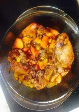 Balsamic & Honey Chicken & Veg 😁