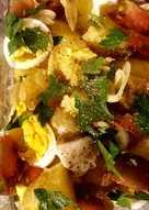 Easy light potato salad