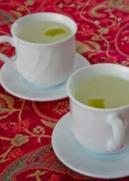 Orange blossom water tea - kahwa bayda