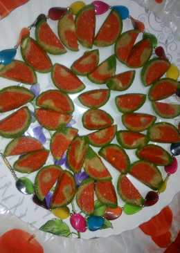 Watermelon cashew delights