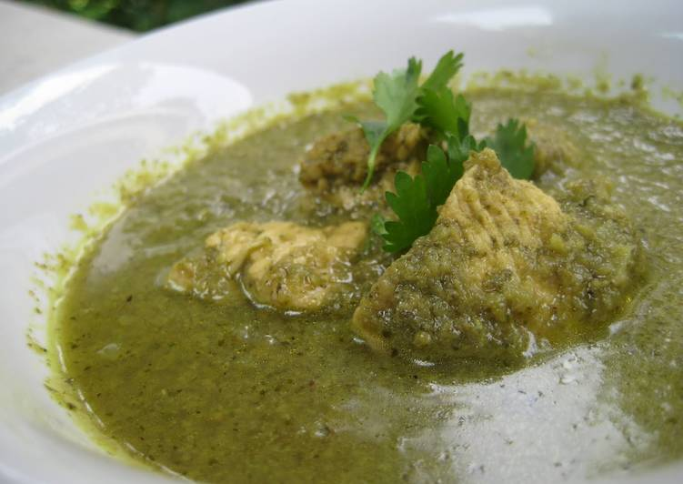 Green Chicken Gravy