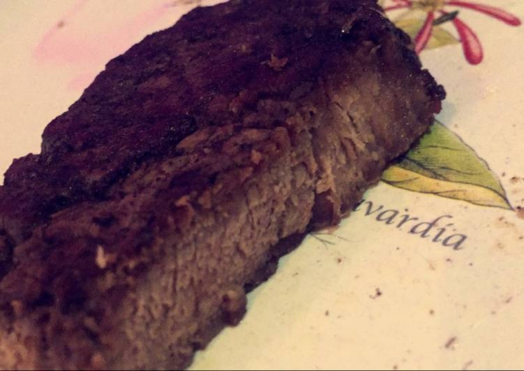 Well Done Steak With Garlic Butter Recipe By Funrecipes