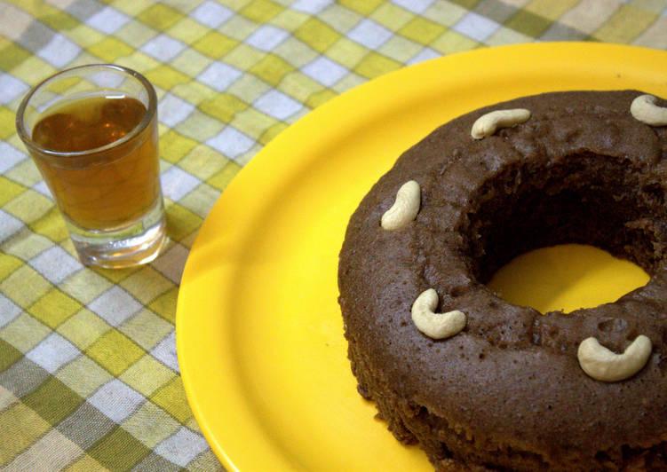 Yogurt Cake Recipe In Pressure Cooker: My First Attempt At Baking-Egg Less Chocolate Sponge Cake